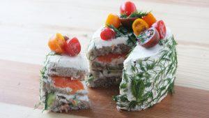 طرز تهیه کیک ساندویچی