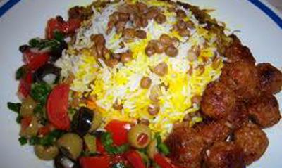 طرز تهیه لای پلوی قشقایی +عکس