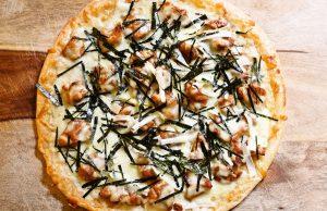 طرز تهیه پیتزای مرغ با سس تریاکی