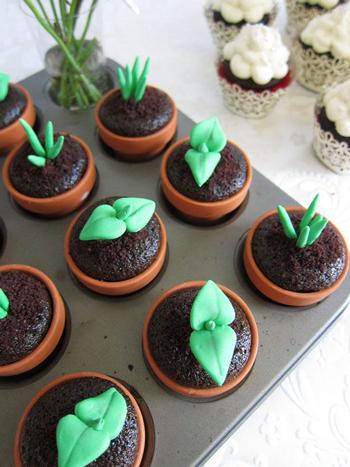 طرز تهیه کاپ کیک چای ارل گری +عکس