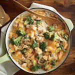 طرز تهیه خوراک مرغ خامه ای و بروکلی +عکس