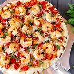 طرز تهیه پيتزا ميگو +عکس