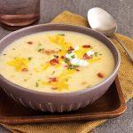 طرز تهیه سوپ سیب زمینی خامه ای +عکس