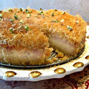 طرز تهیه کیک کادایف ترکیهای