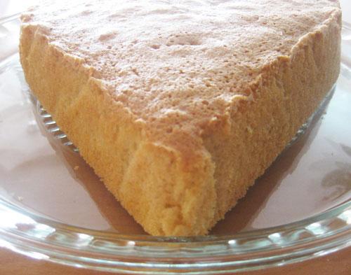 طرز تهیه کیک شیفون