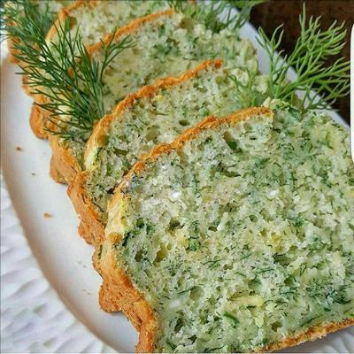 طرز تهیه نان اسفناج با نمک دریایی