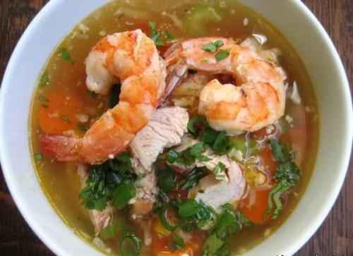 طرز تهیه سوپ میگو +عکس
