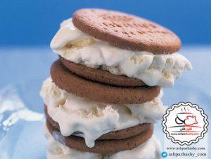طرز تهیه بستنی چیز کیک