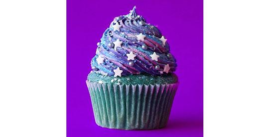 طرز تهیه کاپ کیک کهکشانی