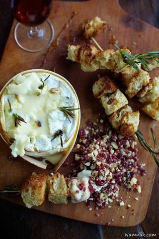 طرز تهیه پنیر کممبرت با آجیل