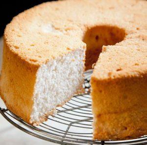 طرز تهیه کیک فرشتهی برفی