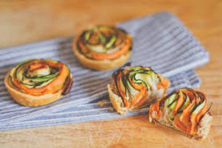 طرز تهیه اسپیرال سبزیجات