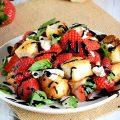 طرز تهیه سالاد پانزانلای توتفرنگی