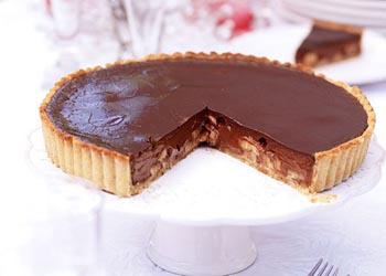 تارت موز و شکلات؛ خوشمزه تر از آنچه فکر کنید