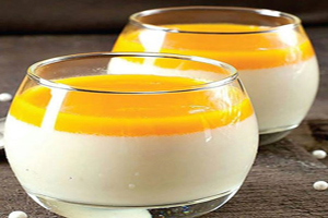 طرز تهیه دسر شیر و نارنگی