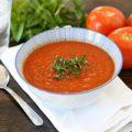 طرز تهیه سوپ گوجه فرنگی و ریحان
