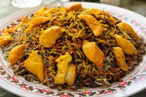 طرز تهیه رشته پلو با مرغ، غذای سنتی ایرانی