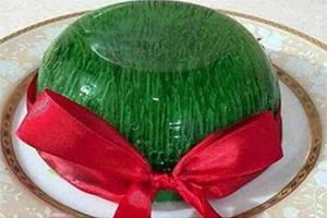 با ژله سبزه عید سفره نوروزی خود را متفاوت بچینید