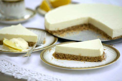 چیز کیک وانیل