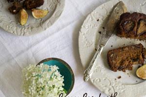 نان موز و انجیر صبحانه ای مغذی برای کودکان