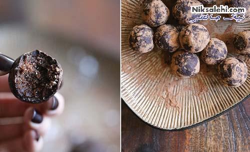 پروتئین بار شکلاتی خانگی