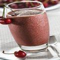 اسموتی گیلاس شکلاتی یک میان وعده سرشار از مواد مغذی