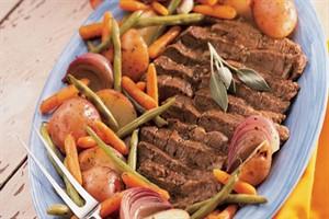 کاسرول سبزیجاتیک شام سبک