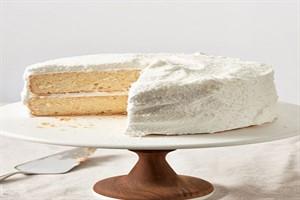 طرز تهیه کیک نارگیلی خوشمزه و خوش عطر