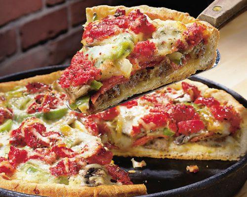 پیتزا بدون فر