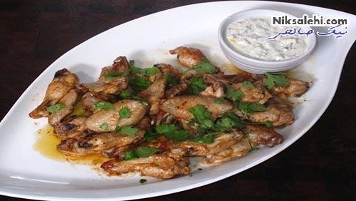 پخت بال مرغ در فر