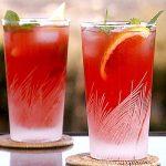 لیموناد پرتقال خونی شربتی فوری و متفاوت برای پاییز