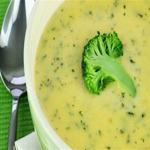 دستور تهیه سوپ بروکلی پنیری مجلسی