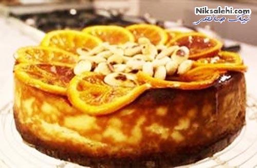 چیزکیک پرتقالی