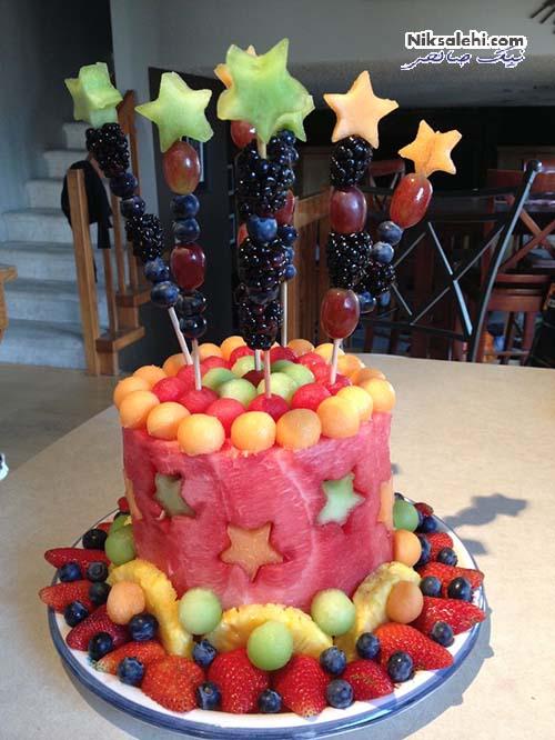 کیک هندوانه