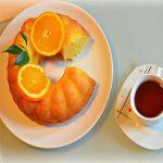 کیک پرتقال را با سس کاراملی میل کنید!