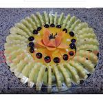 آموزش تصویری تزئین ظرف میوه شب یلدا
