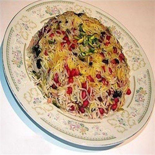 طرز تهیه انار پلو غذای شب های زمستانی