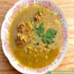 سوپ انار غذایی کاملا ایرانی