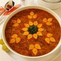 سوپ ورمیشل یا سوپ رشته فرنگی برای بهبود سرماخوردگی