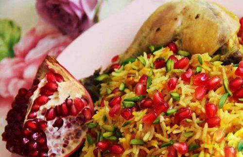 انار پلوی شیرازی