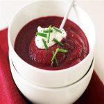 سوپ چغندر خوشمزه و مقوی برای شب یلدای شما