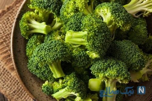 ناگت سبزیجات بروکلی