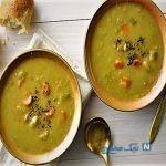 آموزش تهیه سوپ نخود مدیترانه ای