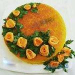 ایده هایی زیبا برای تزیین ته چین برای مراسم افطاری شما
