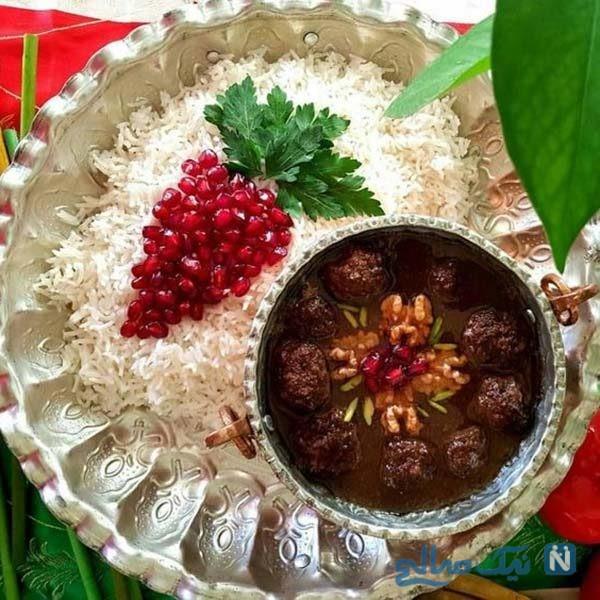 ایده هایی زیبا برای تزیین برنج برای مراسم افطاری شما