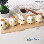 تصاویر زیبا و فانتزی برای تزیین تخم مرغ آب پز عروسکی