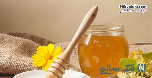 آب گرم و عسل