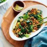 طرز تهیه فراید رایس گیاهی یا پلو چینی سبزیجات