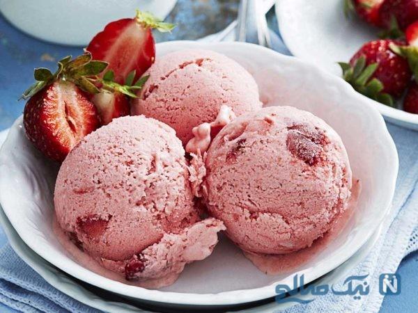 این بستنی فقط مخصوص آخر هفته است! +عکس