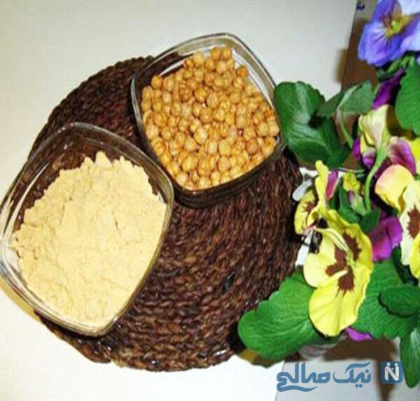 خواص آرد نخودچی